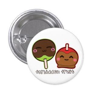 Forbidden Fruit 3 Cm Round Badge