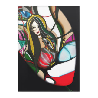 Forbidden Fruit Acrylic Wall Art