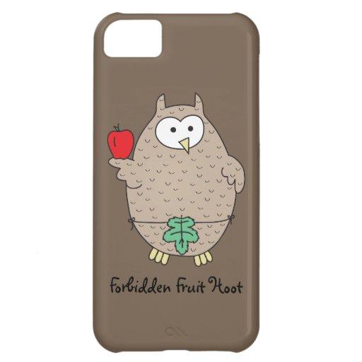 Forbidden Fruit Hoot Case For iPhone 5C