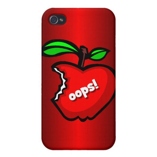 forbidden fruit cover for iPhone 4