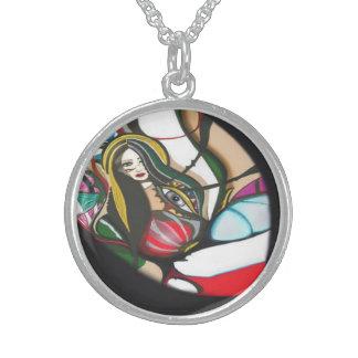 Forbidden Fruit Sterling Silver Necklace