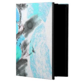 Forbidden Fruit Teal iPad Air Covers