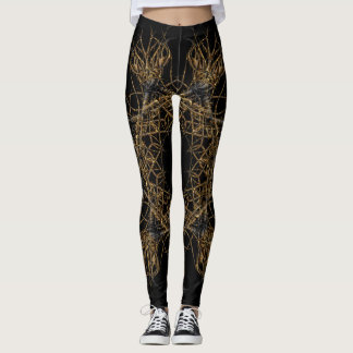 forbidden gold leggings
