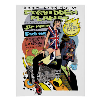 Forbidden Planet Print/Poster Poster