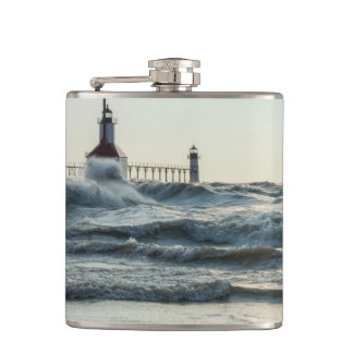 Force Behind Beauty Hip Flask