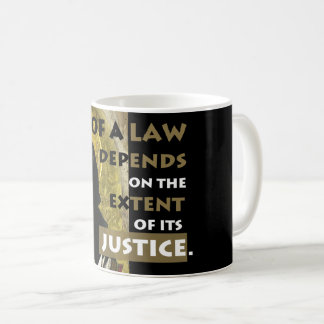 Force of a Law Aquinas Resistance mug