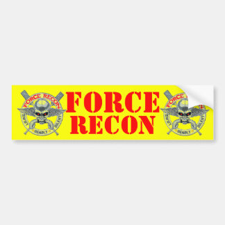 FORCE RECON BUMPER STICKER