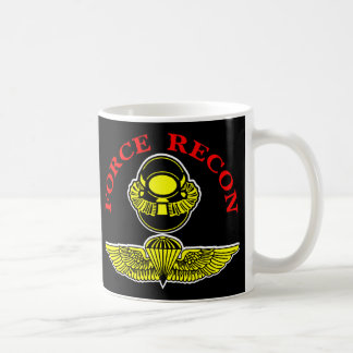 Force Recon Diver Jumpblack Coffee Mug