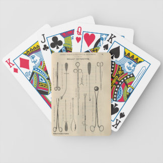 Forceps Bicycle Playing Cards