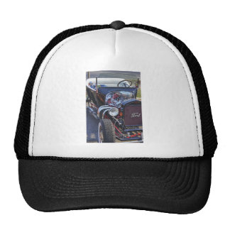 Ford Classic Vintage Hot Rod HDR Picture Photo T Trucker Hats