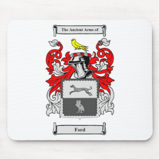 Ford (English) Coat of Arms Mouse Pad