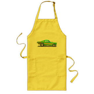 Ford Musttang Funny Car Aprons