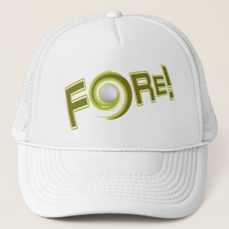 FORE! golf hat