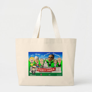 Foreclose United States House and Senate Canvas Bags