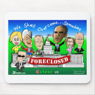 Foreclose United States House and Senate Mouse Pad