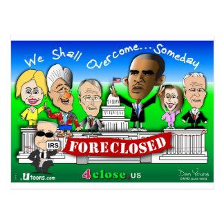 Foreclose United States House and Senate Postcard