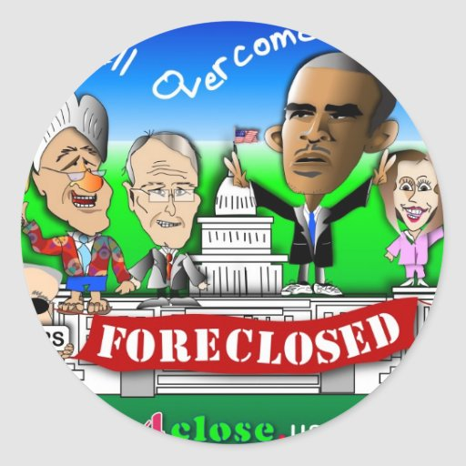 Foreclose United States House and Senate Sticker