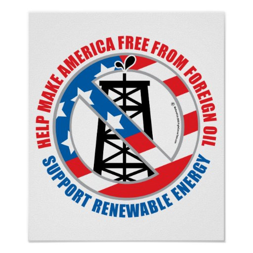 Foreign Oil Poster