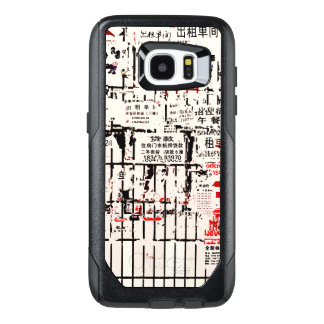 Foreign Torn Peeled Billboard Wall OtterBox Samsung Galaxy S7 Edge Case