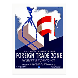 Foreign Trade Zone Postcard