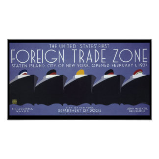 Foreign Trade Zone Print