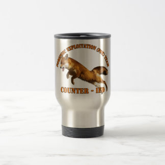 Forensic Exploitation Team (FOX) CIED Counter IED Travel Mug