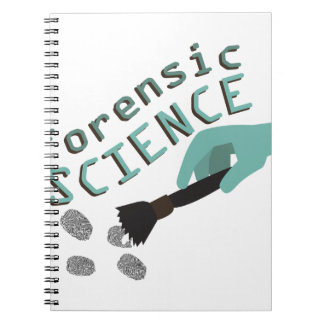 Forensic Science Spiral Notebook