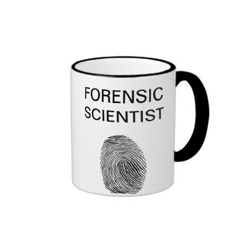 Forensic Scientist Coffee Mug
