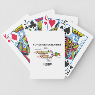 Forensic Scientist Inside (DNA Replication) Bicycle Playing Cards