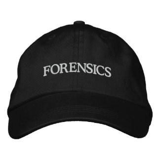 FORENSICS EMBROIDERED HAT
