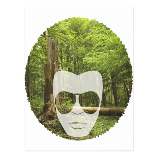 Forest Afro Postcards