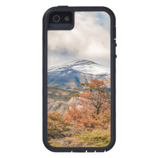 Forest and Snowy Mountains, Patagonia, Argentina iPhone 5 Cover