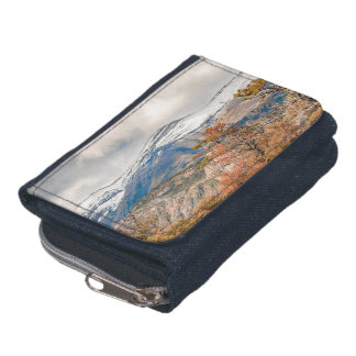 Forest and Snowy Mountains, Patagonia, Argentina Wallets