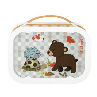 Forest Animal Woodland Friends Lunch Box