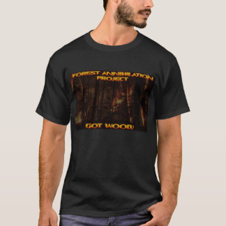 Forest Annihilation Project Tee