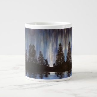 Forest Aurora Large Mug