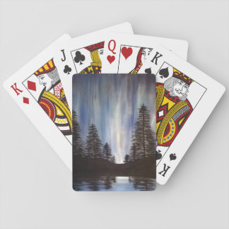 Forest Aurora Playing Cards