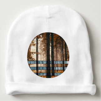 Forest autumn & winter baby beanie