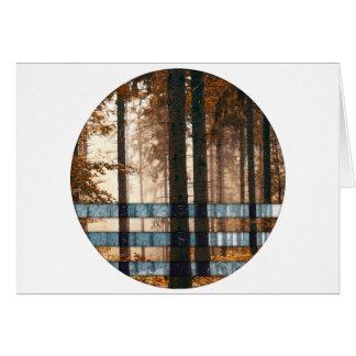 Forest autumn & winter card