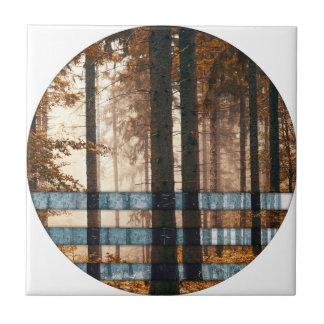 Forest autumn & winter ceramic tile