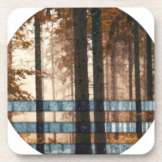 Forest autumn & winter coaster
