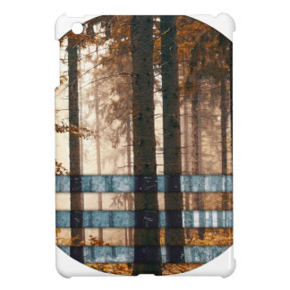 Forest autumn & winter iPad mini case