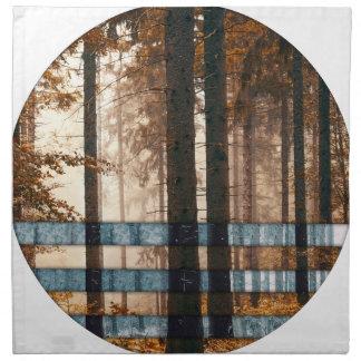 Forest autumn & winter napkin