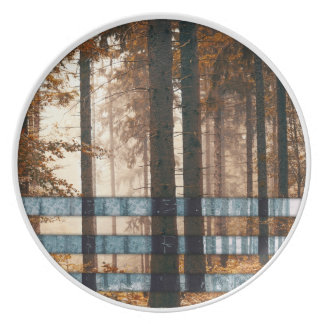 Forest autumn & winter plate