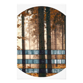Forest autumn & winter stationery