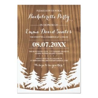 Forest Bachelorette Party Invites
