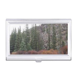 Forest Business Card Holder