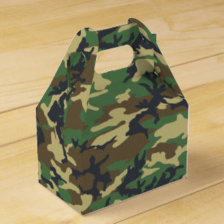 Forest Camo Favour Box