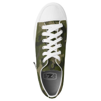 Forest Camo Printed Shoes
