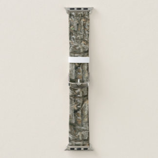 Forest Camouflage for Hunters Apple Watch Band
